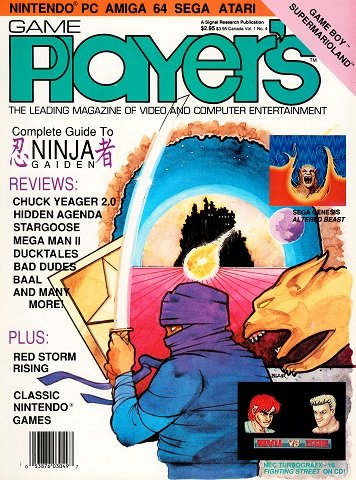 New Release - Game Player's Issue 04 Volume 1 Number 4 (October 1989)