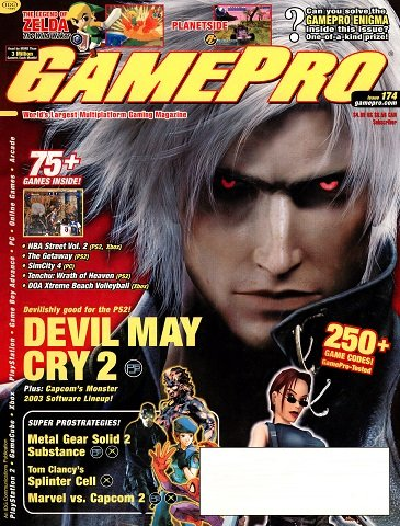 New Release - GamePro Issue 174 (March 2003)