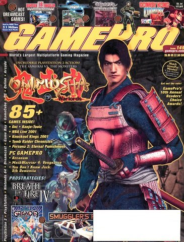 New Release - GamePro Issue 149 (February 2001)