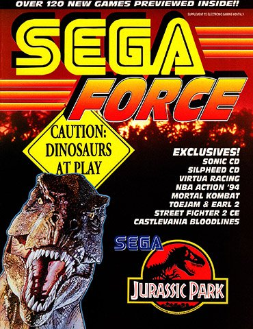 New Release - Sega Force Issue 3 (July 1993)