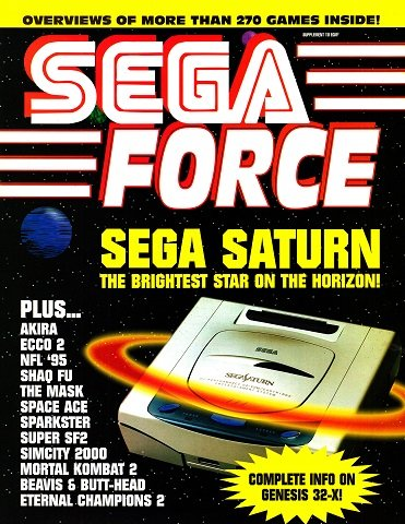New Release - Sega Force Issue 5 (July 1994)