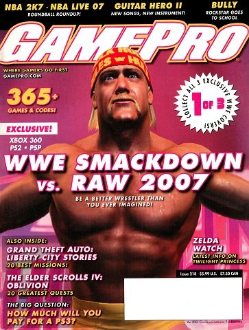 New Release - GamePro Issue 218 (November 2006)