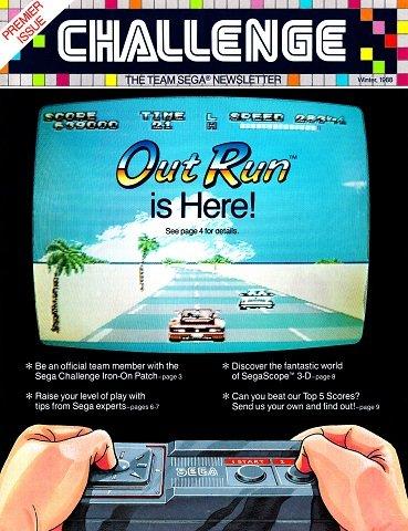 New Release - Sega Challenge Issue 1 (Winter 1988)