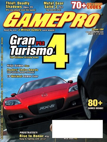 New Release - GamePro Issue 188 (May 2004)