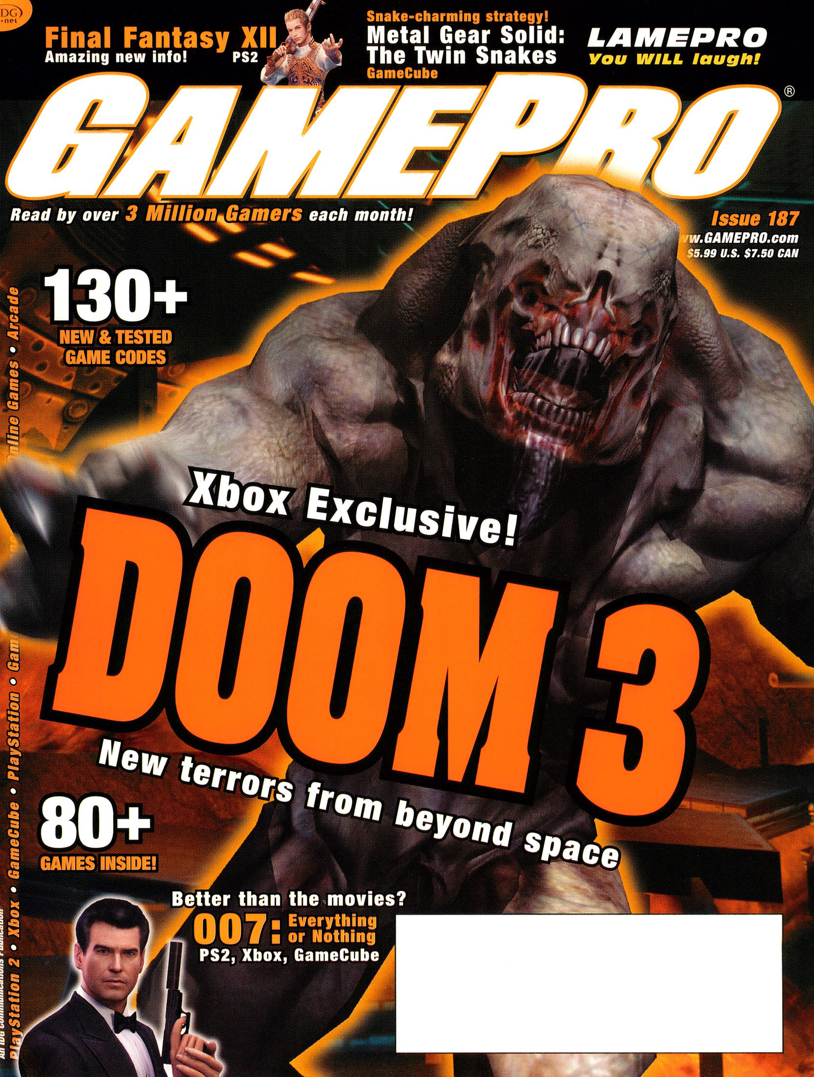 New Release - GamePro Issue 187 (April 2004)