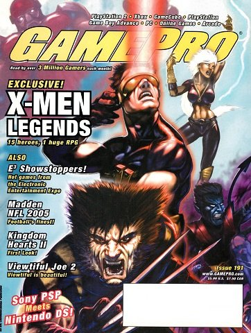 New Release - GamePro Issue 191 (August 2004)