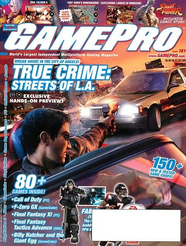 New Release - GamePro Issue 181 (October 2003)