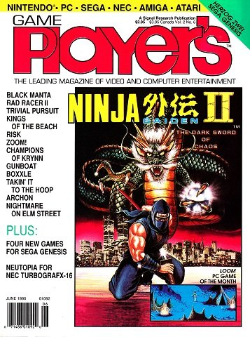 New Release - Game Player's Issue 12 Volume 2 Number 6 (June 1990)