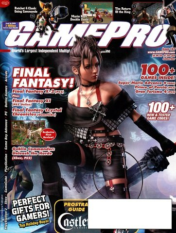 New Release - GamePro Issue 183 (December 2003)