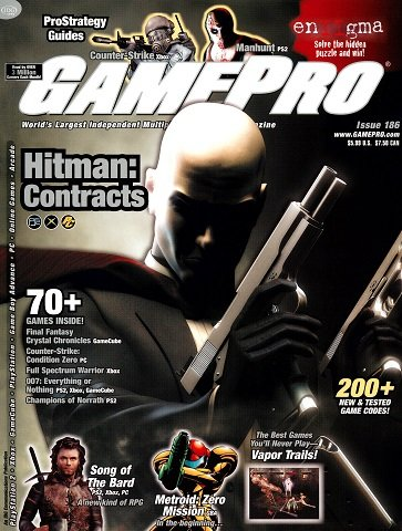 New Release - GamePro Issue 186 (March 2004)