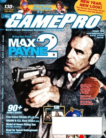New Release - GamePro Issue 184 (January 2004)