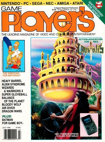 New Release - Game Player's Issue 13 Volume 2 Number 7 (July 1990)