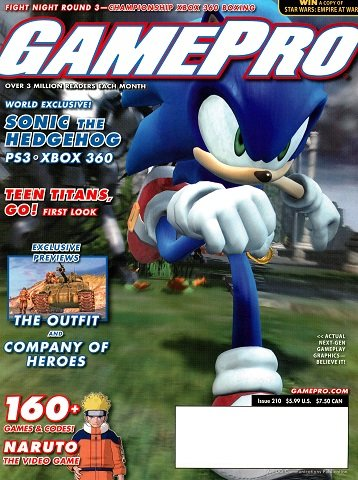 New Release - GamePro Issue 210 (March 2006)