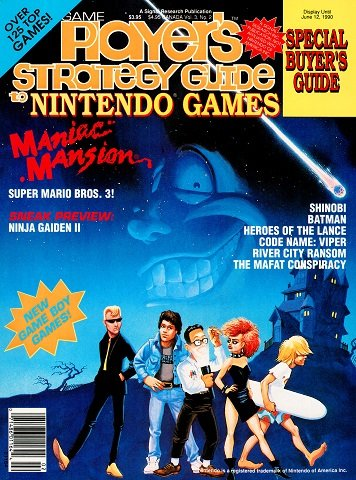 New Release - Game Player's Strategy Guide to Nintendo Games Volume 3 Number 2 (April-May 1990)
