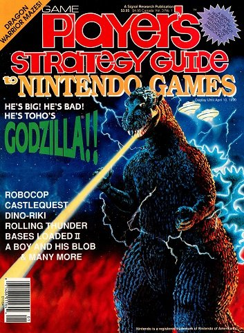 New Release - Game Player's Strategy Guide to Nintendo Games Volume 3 Number 1 (February-March 1990)
