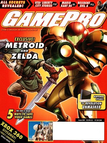 New Release - GamePro Issue 209 (February 2006)