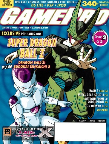 New Release - GamePro Issue 214 (July 2006)