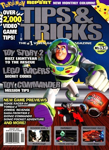 New Release - Tips & Tricks Issue 59 (January 2000)