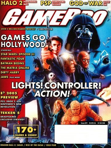 New Release - GamePro Issue 201 (June 2005)