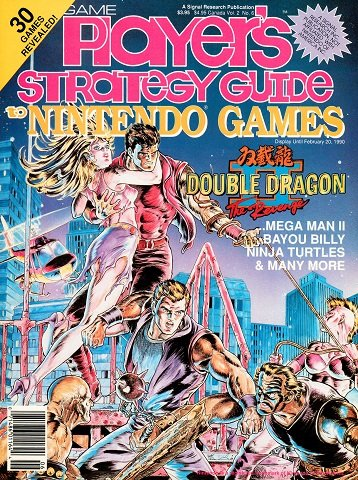 New Release - Game Player's Strategy Guide to Nintendo Games Volume 2 Number 6 (December-January 1990)