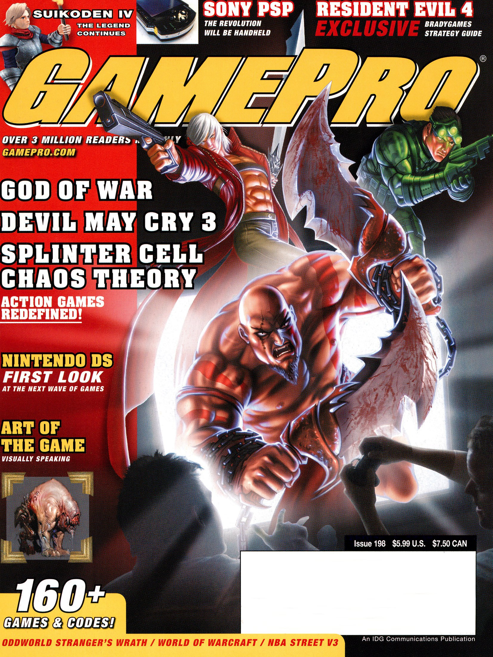 New Release - GamePro Issue 198 (March 2005)