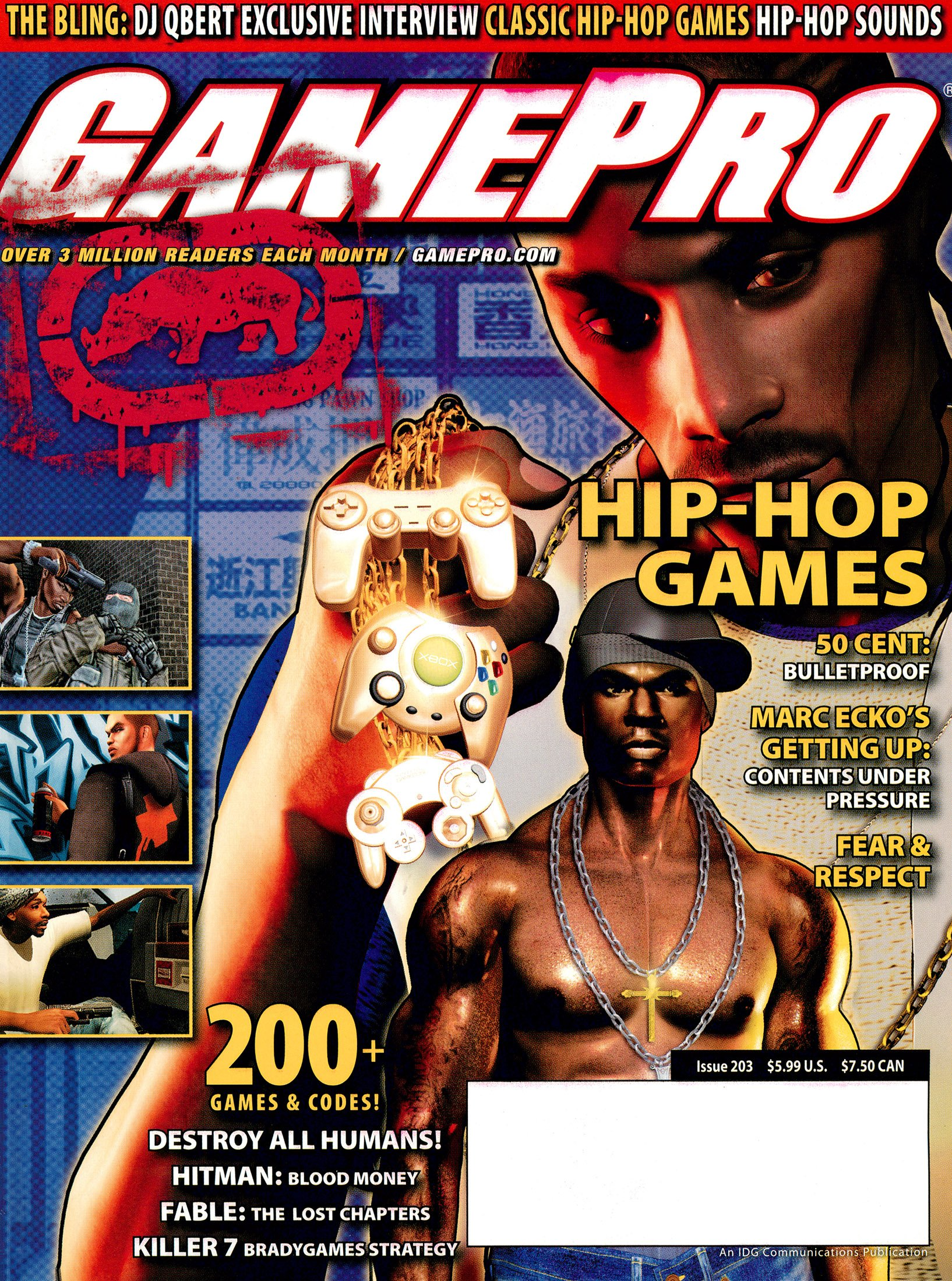 New Release - GamePro Issue 203 (August 2005)