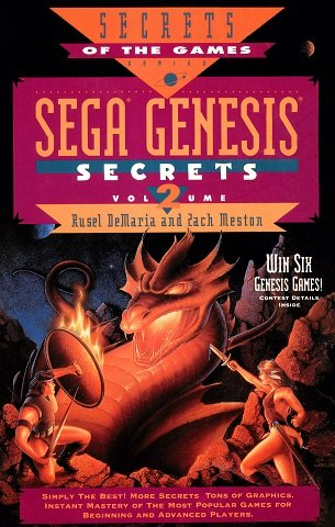 New Release - Secrets of the Games Series - Sega Genesis Secrets Volume 2 (1991)