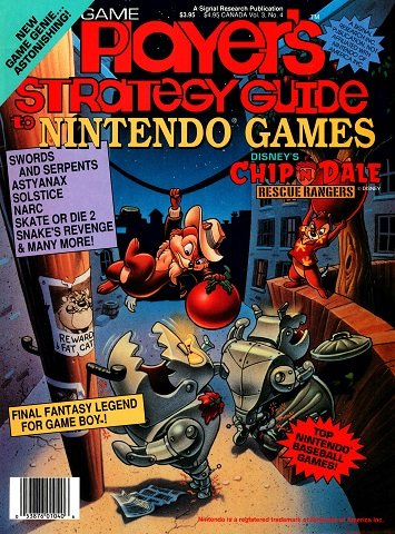 New Release - Game Player's Strategy Guide to Nintendo Games Volume 3 Number 4 (August-September 1990)