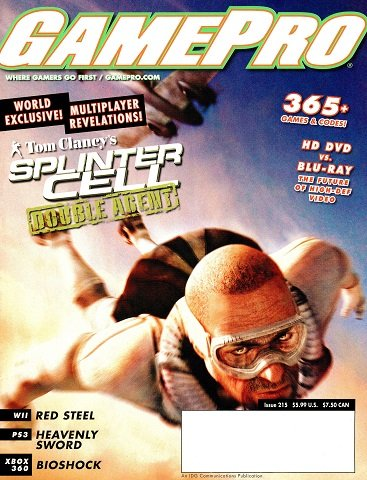 New Release - GamePro Issue 215 (August 2006)