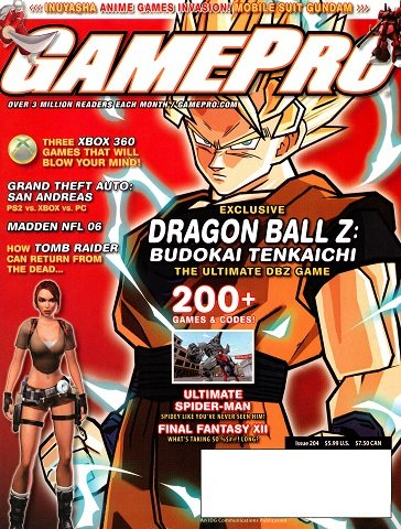New Release - GamePro Issue 204 (September 2005)