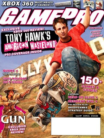 New Release - GamePro Issue 207 (December 2005)
