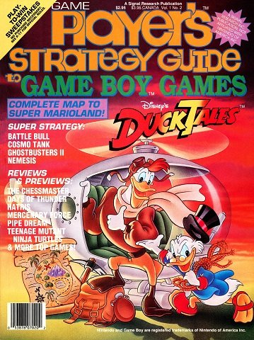 New Release - Game Player's Strategy Guide to Game Boy Games Volume 1 Number 2 (September 1990)