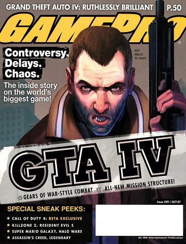 New Release - GamePro Issue 229 (October 2007)