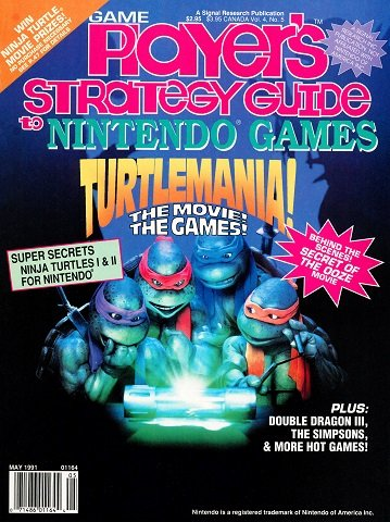 New Release - Game Player's Strategy Guide to Nintendo Games Volume 4 Number 5 (May 1991)