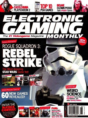 New Release - Electronic Gaming Monthly Issue 167 (June 2003)