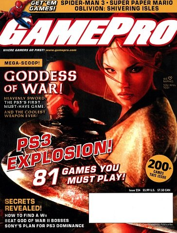 New Release - GamePro Issue 224 (May 2007)