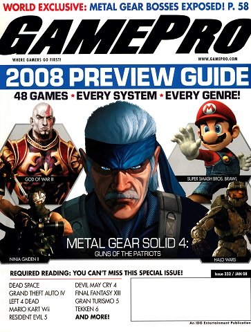 New Release - GamePro Issue 232 (January 2008)