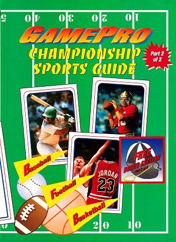 New Release - GamePro Championship Sports Guide Part 2 of 2 (May 1993)
