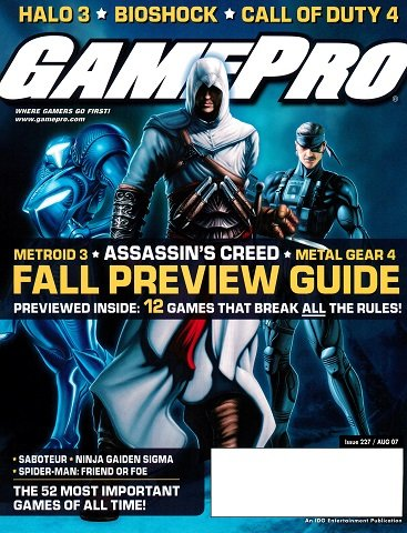 New Release - GamePro Issue 227 (August 2007)