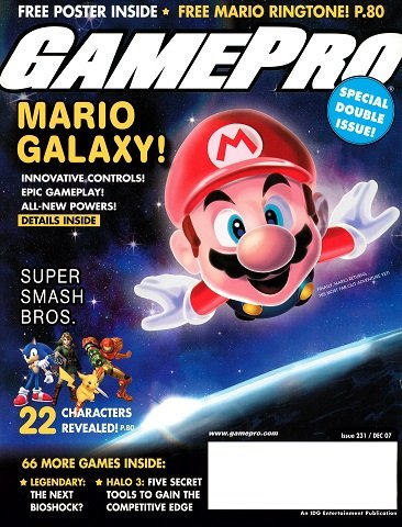 New Release - GamePro Issue 231 (December 2007)