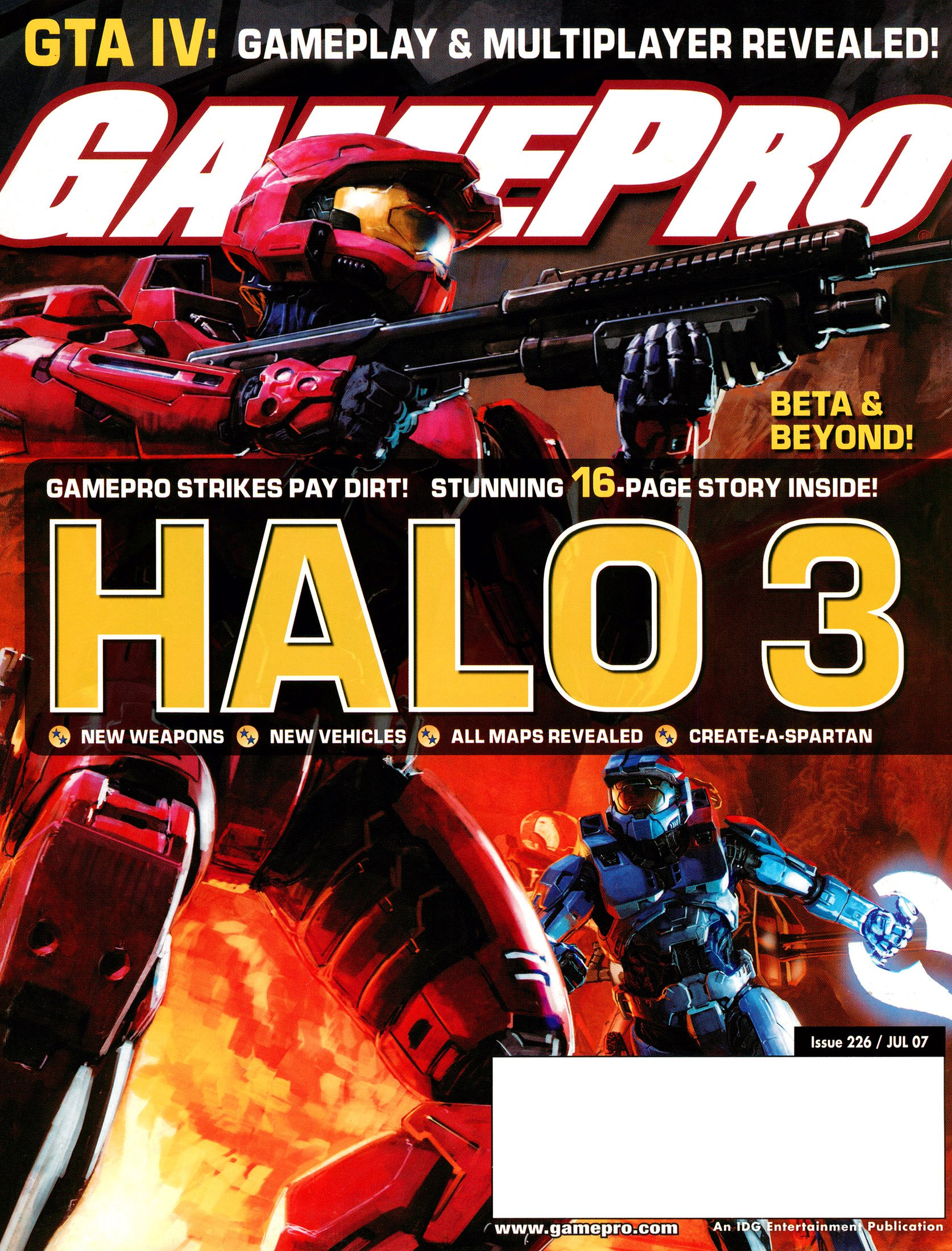 New Release - GamePro Issue 226 (July 2007)