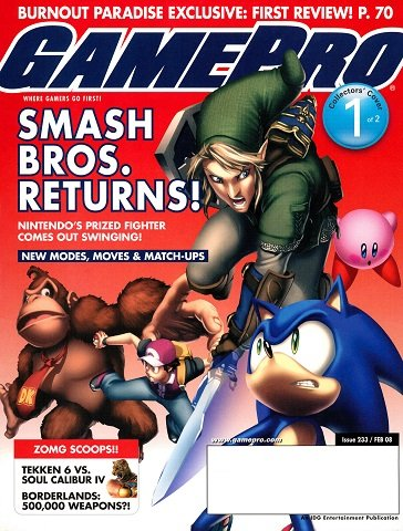 New Release - GamePro Issue 233 (February 2008)