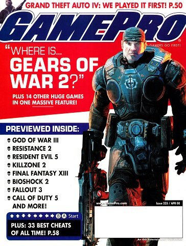 New Release - GamePro Issue 235 (April 2008)