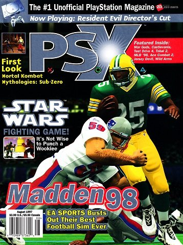 New Release - P.S.X. Issue 16 (August 1997)