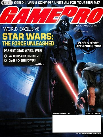 New Release - GamePro Issue 236 (May 2008)