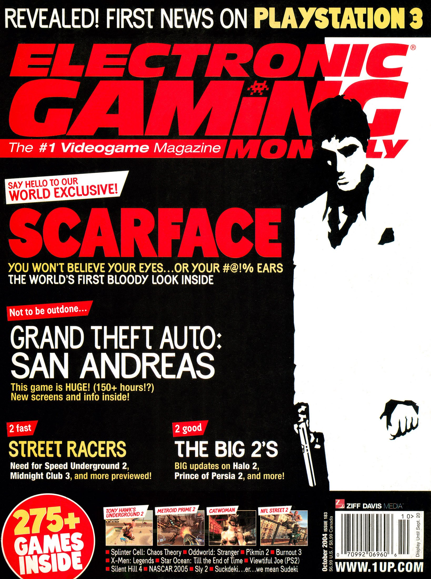 New Release - Electronic Gaming Monthly Issue 183 (October 2004)