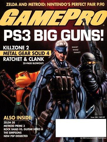 New Release - GamePro Issue 230 (November 2007)