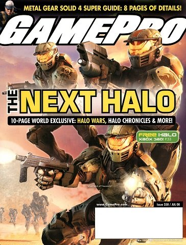 New Release - GamePro Issue 238 (July 2008)
