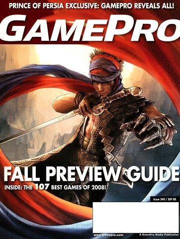 New Release - GamePro Issue 240 (September 2008)