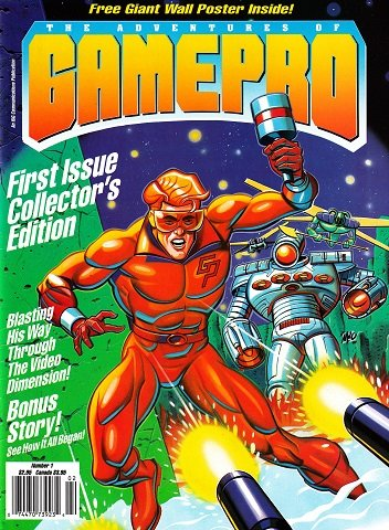 New Release - The Adventures of GamePro Issue 1 (June 1990)